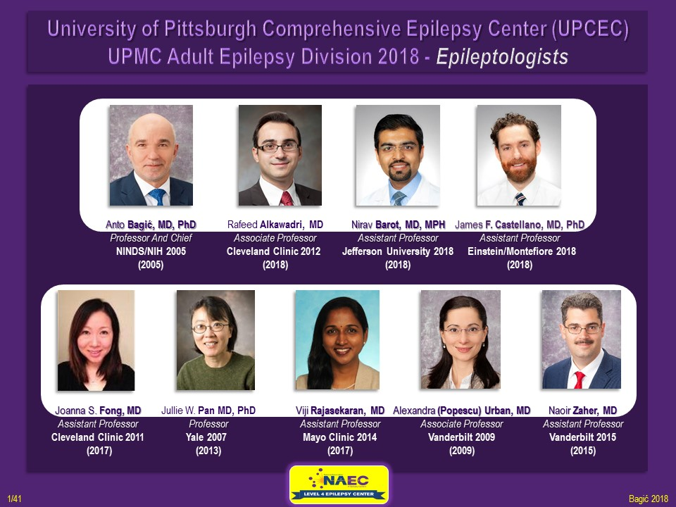 Epilepsy Division | Department of Neurology | University of Pittsburgh
